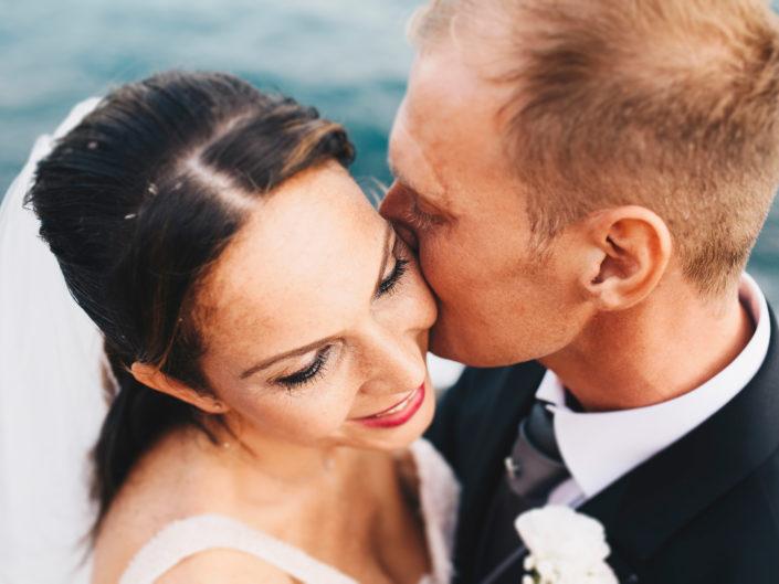 Matrimonio affacciati al mare di Fiascherino