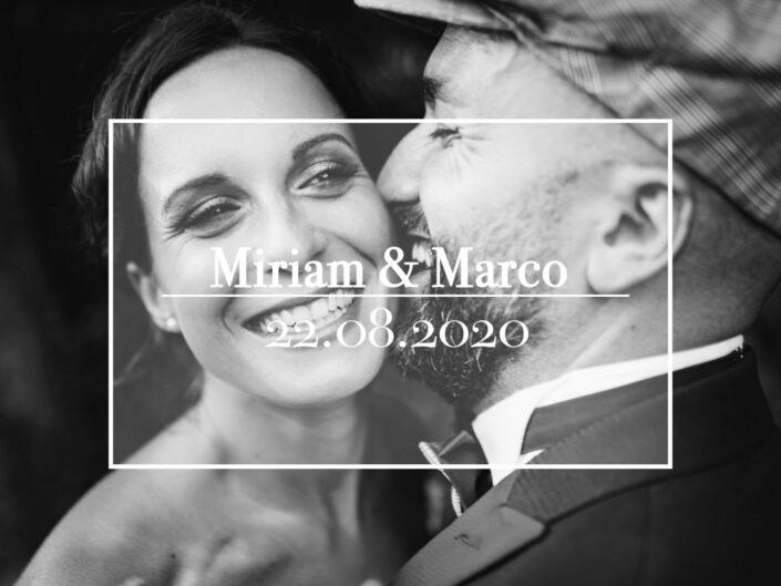 22.08.2020 - Miriam e Marco