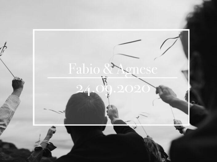 Fabio e Agnese 24.09.2020