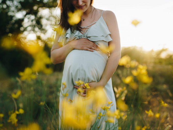 Una mamma dolcissima in dolce attesa
