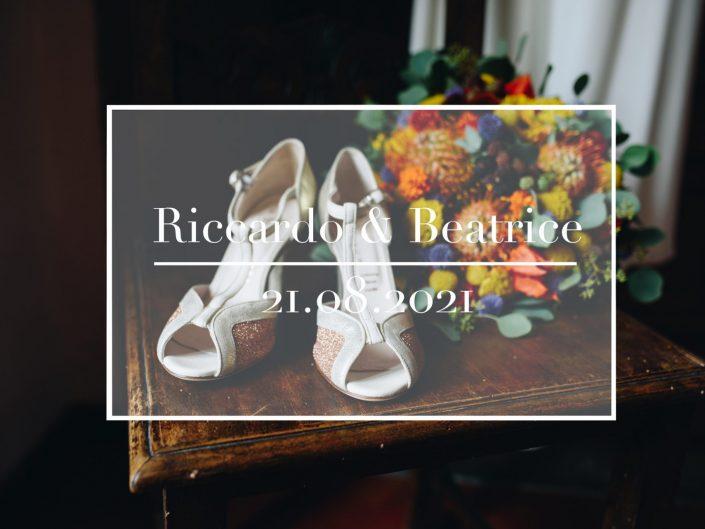 Riccardo e Beatrice - 21.08.2021 - Convento del Carmine