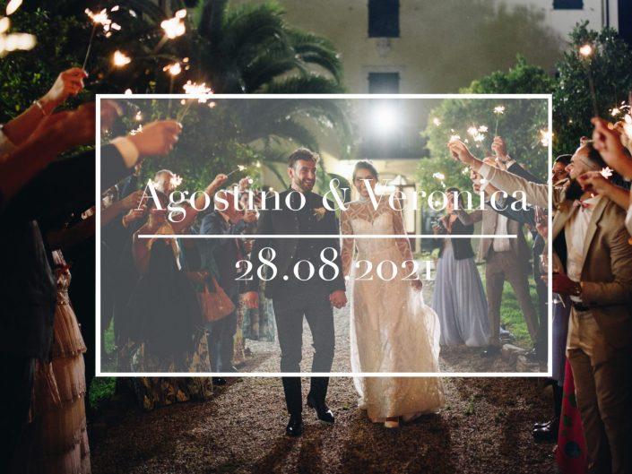 Agostino e Veronica - 28.08.2021 - Villa Pratola